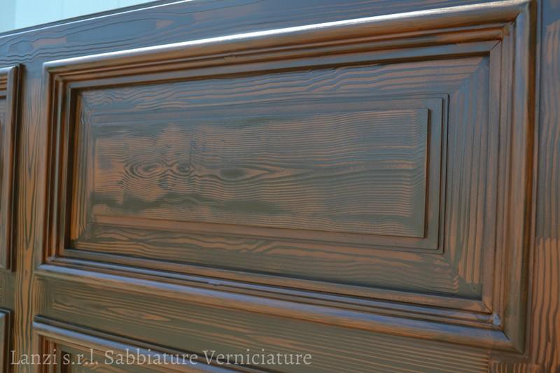 Pittura effetto legno pittura decorativa per interni for Pittura particolare per interni
